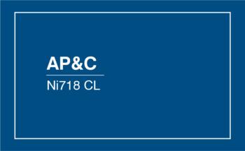 AP&C Ni718 CL