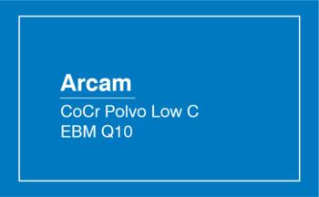 Arcam CoCr Polvo Low C EBM Q10