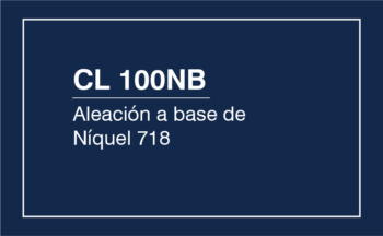 CL 100NB – Aleación A Base De Níquel 718