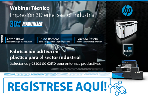 Impresión 3D En El Sector Industrial. Webinars